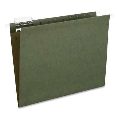 50 Pendaflex Recycled Hanging file Folders Letter Size Standard Green 1/5 Cut !!