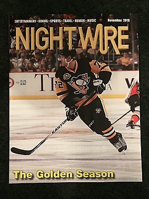 Patric Hornqvist Stanley Cup PITTSBURGH PENGUINS NightWire Magazine Unsigned