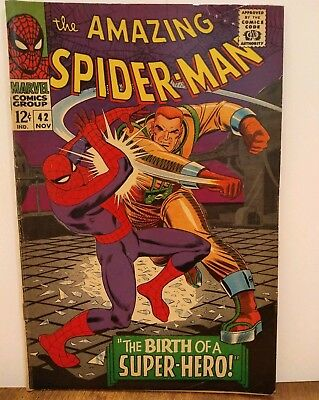 The Amazing Spider-Man #42 (1965, Marvel), Mary Jane is shown