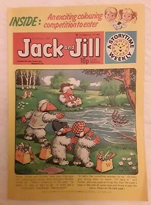 Vintage Jack and Jill Comic: 7th February 1981