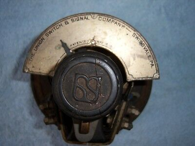 Antique 1911 Union Switch and Signal Co. Swissvale, PA. Railroad