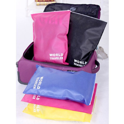 Waterproof Laundry Pouch Storage Bag Portable Travel Shoes Packing Clip Bags Fad