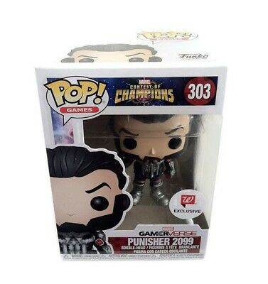 Funko Pop Punisher 2099 Contest Champions Marvel Vinyl Walgreens Exclusive New