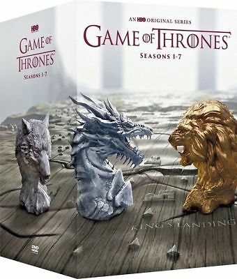 Game of Thrones: The Complete Seasons 1-7 (DVD 34-Disc) 1 2 3 4 5 6 7