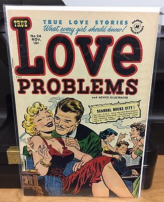 True Love Problems and Advice Illustrated #24. Harvey Comics 1953