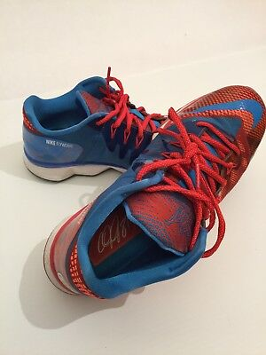 wholesale dealer 24313 db5ae Nike CJ3 Flyweave Trainer Shoes Bowling Sizes 8 Red Blue 725231-600