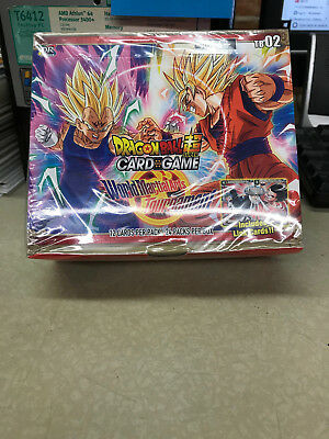 DRAGON BALL SUPER TCG WORLD MARTIAL ARTS TOURNAMENT BOOSTER BOX sealed