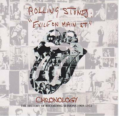 "THE ROLLING STONES Exile On Main St"" Chronology  Goldplate PRESS 2×CD *F/S"
