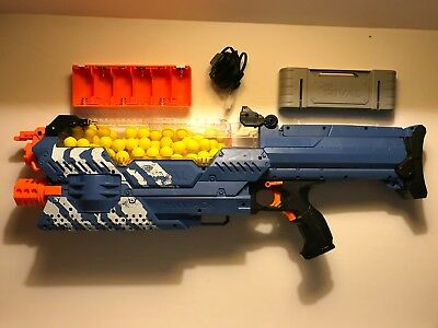 Nerf Rival Nemesis MXVII-10K | Pre-Owned w/ 7.2v Rechargeable Battery & 100 Ball