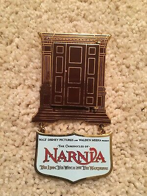CHRONICLES OF NARNIA OPENING DAY 2005 PIN Disney LE1000 Lion Witch Wardrobe NEW