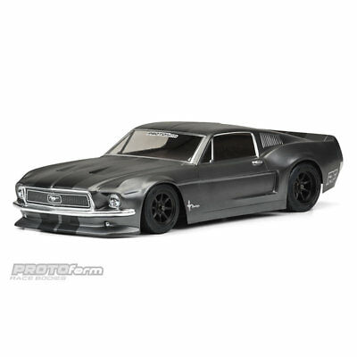 Protoform PRM1558-40 1968 Ford Mustang Vintage Trans-Am Racing Body (Clear)