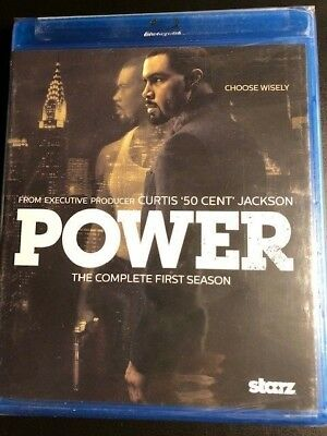 Power: The Complete First Season (Blu-ray Disc, 2015,)