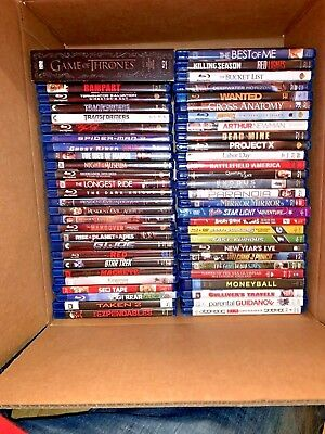 55 BLURAY dvd 👉🏾wholesale bulk movie lot👈🏾Action,Comedy,Adventure. No Dupes!