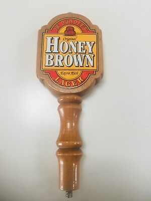 High Quality, Heavy Duty JW Dundee's Honey Brown Lager Beer Tap Handle! HQ Bar
