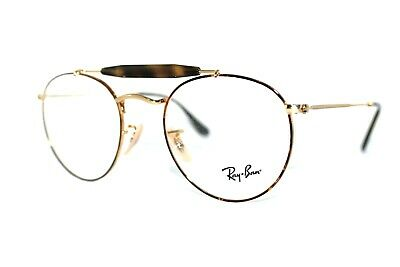 b2190782b0e New Authentic Ray-Ban Rb 3747V 2945 Havana Gold Frames Eyeglasses 50Mm  Rb3747V