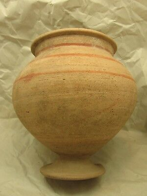 Ancient Roman Footed Pot