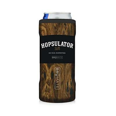 BrüMate Hopsulator Double-walled Stainless Steel Insulated Can Cooler for 12 Oz
