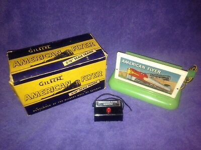 1951 American Flyer #566 Whistling Billboard W/box And Controller Very Nice!!
