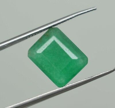 5.05 Ct  Natural Emerald Cut Green Emerald  Gems Ggl  Certificate Online Verify