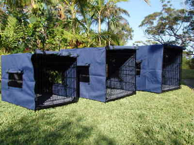 Dog Crate Pet Cat Cage Kennel Collapsible metal with tray