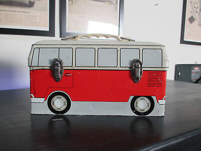Vintage Rare Volkswagen Vw Bus  Lunch Box Sorry No Thermos
