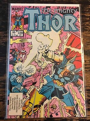 The Mighty Thor #339 1st App. Stormbreaker (Marvel, 1983) Free Combine Shipping