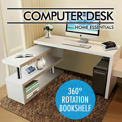 Computer Desk Gaming Study Writing Desk PC Laptop Table Home Office Furniture
