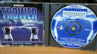 ROBIN TROWER Go My Way CD ORG Aezra Records 75766 70600 20 Blues Rock