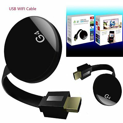 HDMI WiFi Wireless TV Dongle Airplay Stream Display Receiver 4nd Multi-Device
