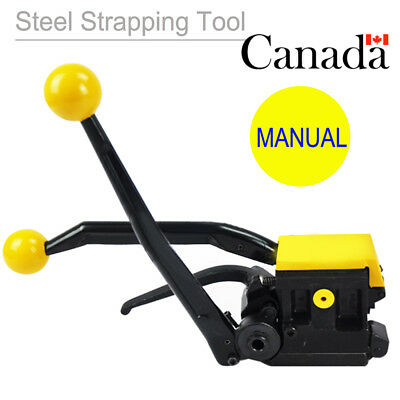 "Manual Steelless steel Strapping Tool Machine A333 For Width 1/2""-3/4"" Pacakage"