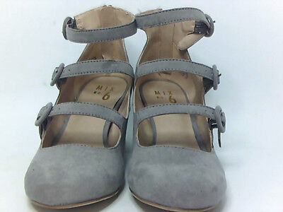 18265d843a5 Mix No 6 deima Womens Heeled Sandals Grey 7.5 US   5.5 UK 5XT9