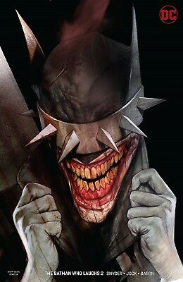 Batman Who Laughs #2 Oliver Variant Dc Comics Near Mint 1/16/19