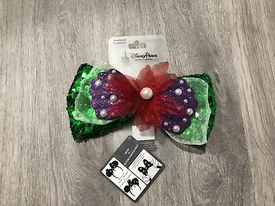 Disney Parks Ariel Bow Interchangeable Ears Swap Your Bow New With Tag VHTF