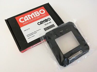 Cambo SLW-89 WideRS Hasselblad-H-Adapter interface plate WRS,excellenter Zustand