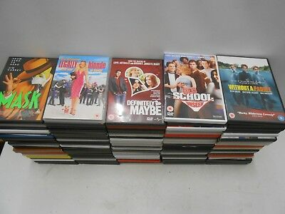 DVDs DVD x100 Bundle Job Lot Region 2 Borat Tower Heist Mrs Browns Robot Taken2