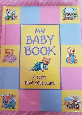 My baby book, a first five year diary, new