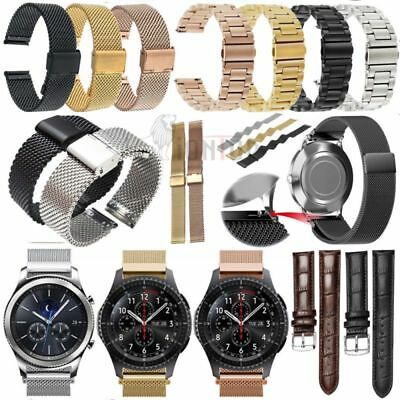 for Fossil Q Smart Watch Strap  Milanese Leather Sport Wrist Band 18mm/20mm/22mm