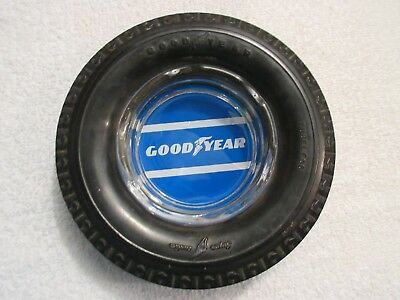 vintage Goodyear rubber tire ashtray lot S