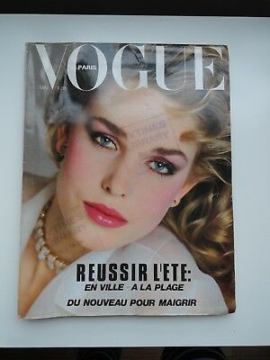 Vogue French edition Mai 1982