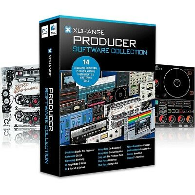 XCHANGE Producer Collection Presonus/Cakewalk/IK Multimedia/Image Line/Loop Loft