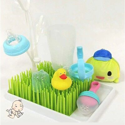 Baby Milk Bottle Drying Rack Baby Bottle Rack Grass Style Cleaning Dryer Drainer