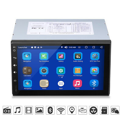 7 inch 2DIN HD 1080P Media Palyer Android8.0 OctaCore BT GPS WiFi RDS DAB+ Radio