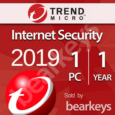 ☑️ Trend Micro Internet Security - [1 PC] [1 Jahr] - Download