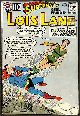 Superman's Girl Friend Lois Lane #28 VG