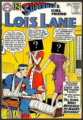 Superman's Girl Friend Lois Lane #38 VG-