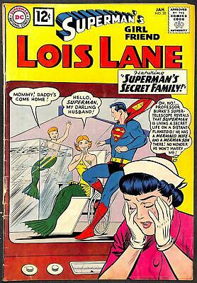 Superman's Girl Friend Lois Lane #30 VG