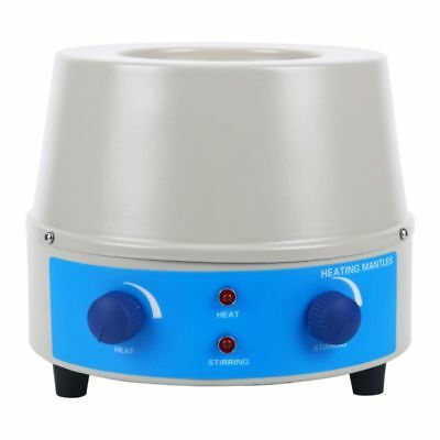 250ml, 0~1400rpm, 150W, Max 450℃(842℉) Heating Mantle with Magnetic Stirrer 110V