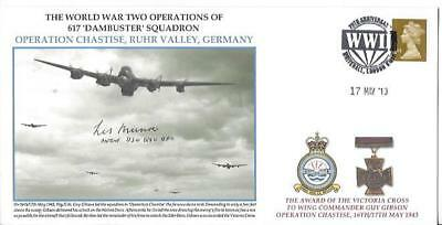 WW11 Operations Of 617 Dambuster Squadron Operation Chastise Signed DAMBUSTERS