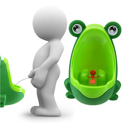 Lovely Frog Children Kids Potty Removable Toilet Training Kids Urinal Early L...