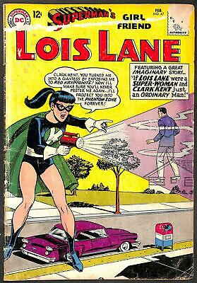 Superman's Girl Friend Lois Lane #47 GD-